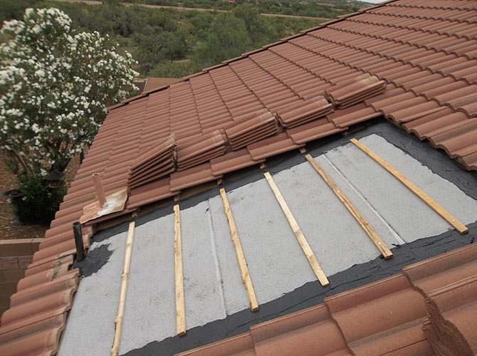 Roof Teks Inc Providing Quality Leak Repairs